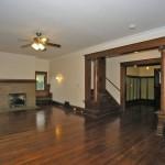 Living room, foyer