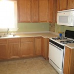 All new kitchen