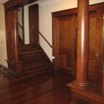 Pocket doors, columns
