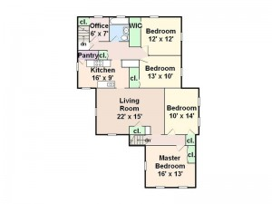 4 5 Bedroom 1 Bath 1 542 Sqft Very Large Upper Apartment