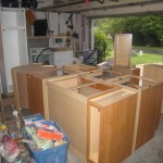Cabinets delivered