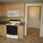 Kitchen, entry hall